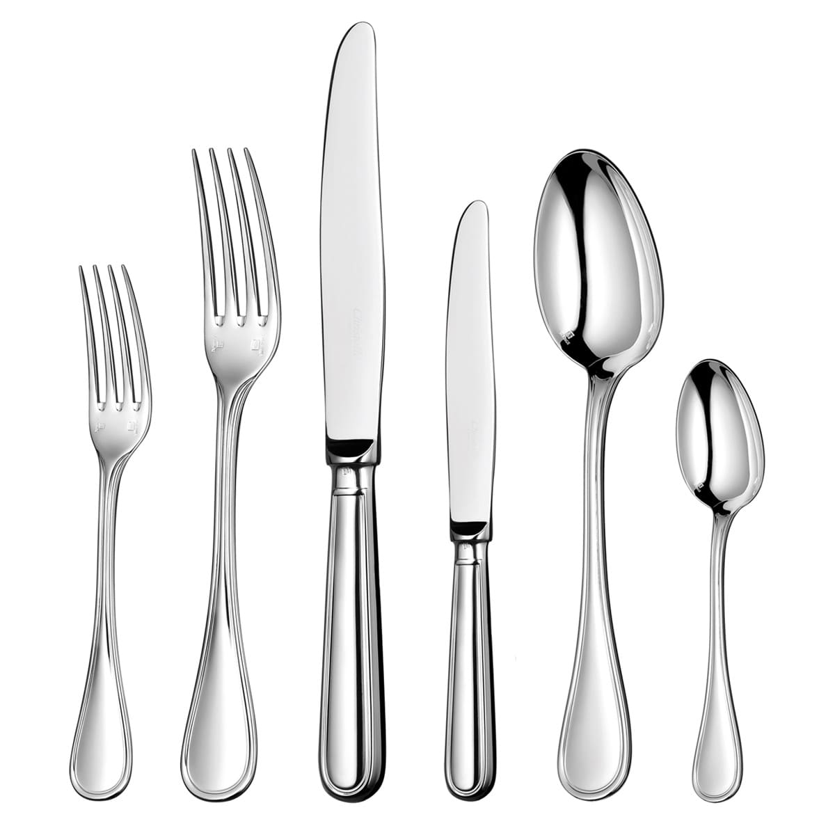 christofle silver plated flatware albi