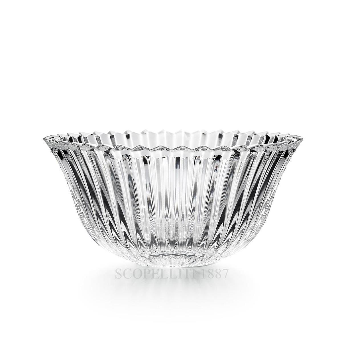 baccarat mille nuits small crystal bowl