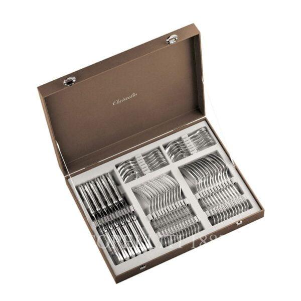 christofle flatware storage chest