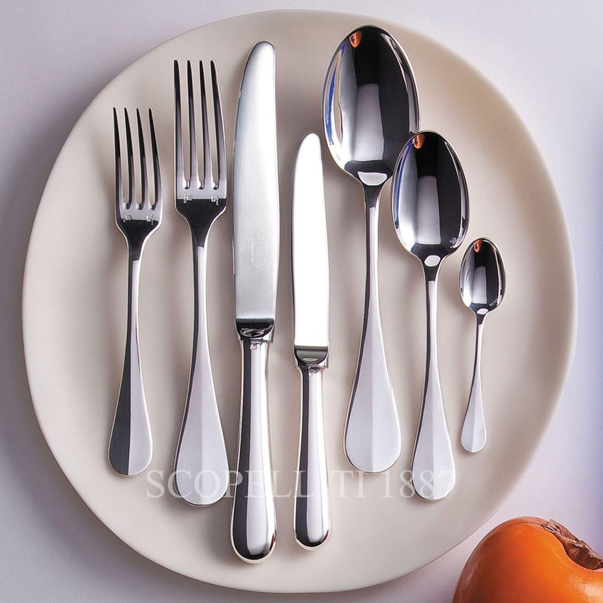 christofle fidelio flatware silver plated