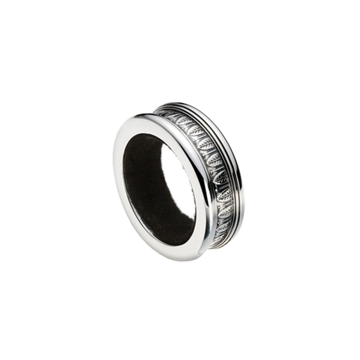 christofle jewellery silver plated bottle ring