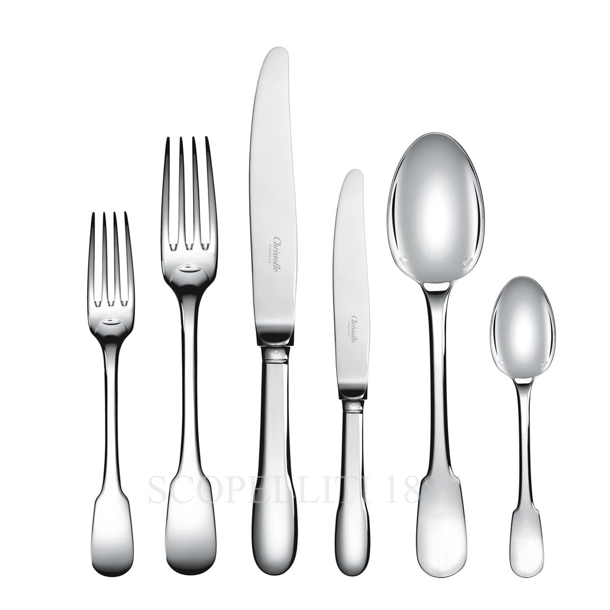 Christofle Cluny Silver Plated Cutlery Set