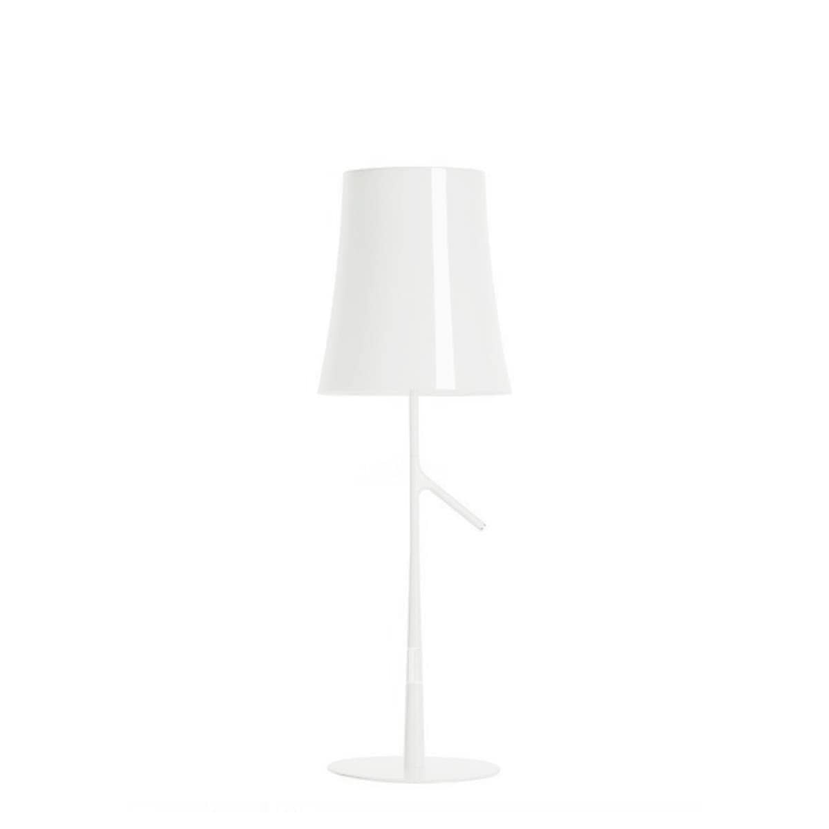 foscarini italian lighting designer table lamp birdie white medium