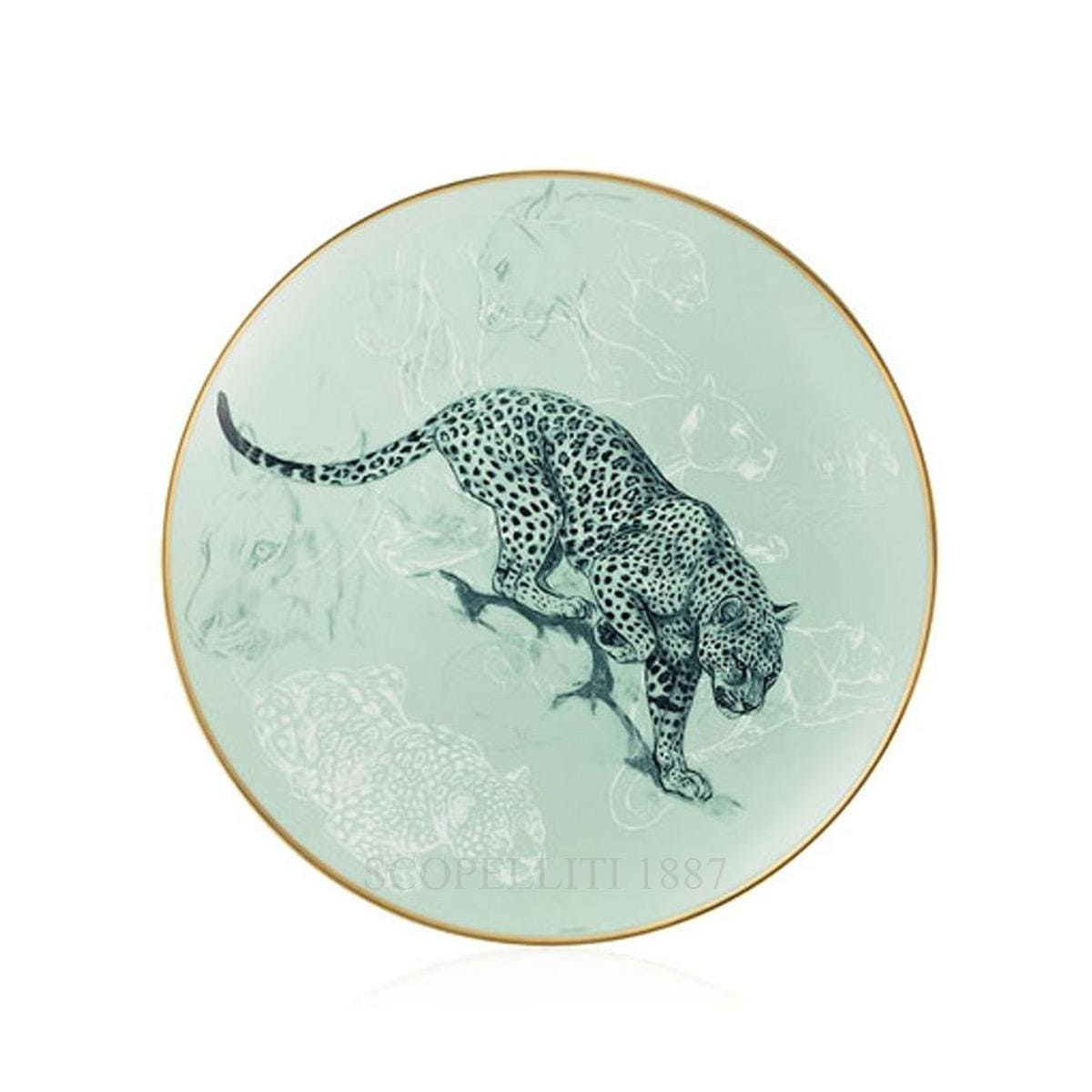 hermes paris carnets d equateur bread and butter plate cats theme
