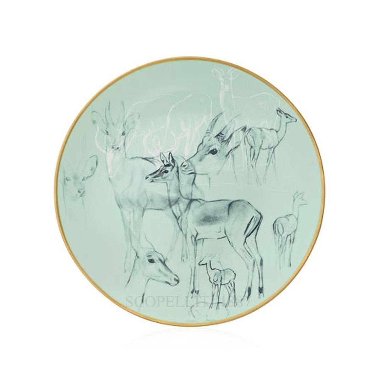 hermes paris carnets equateur bread and butter plate impalas theme