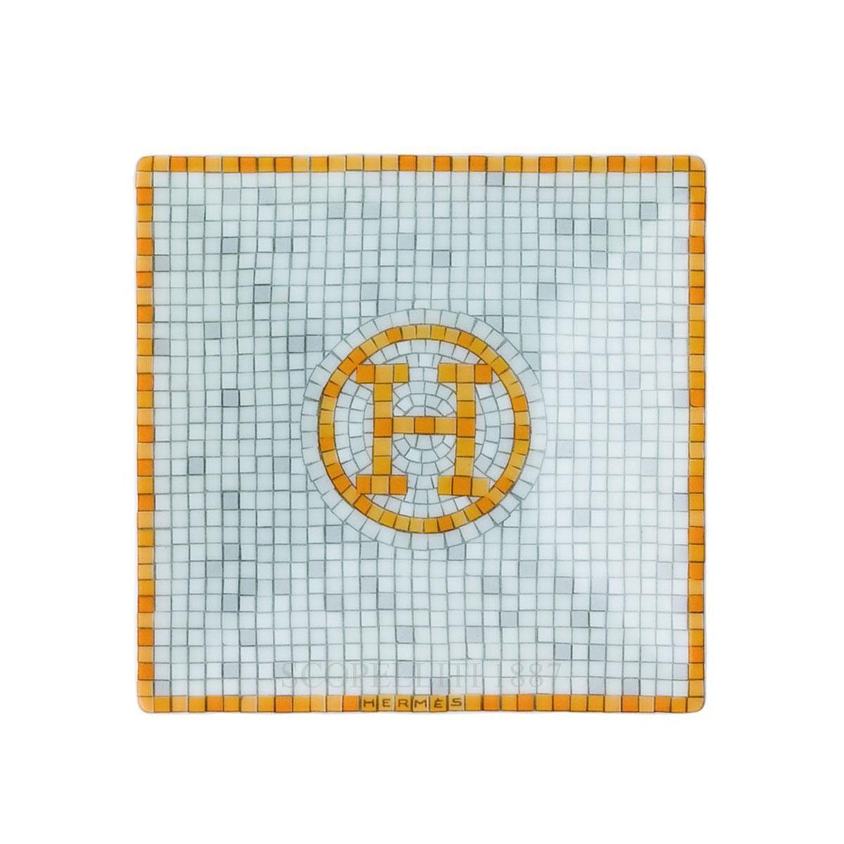 Hermes Mosaique au 24 Square Plate n°1