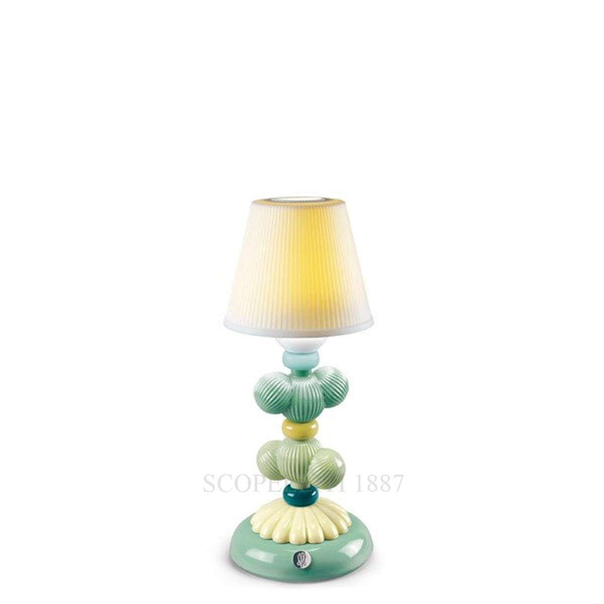 lladro cactus firefly designer table lamp green