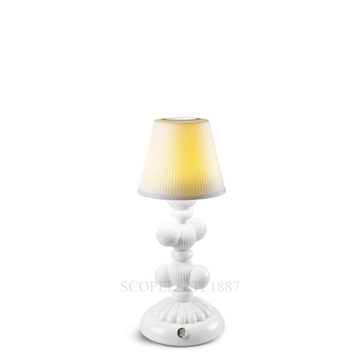 Lladró Cactus Firefly Table Lamp White