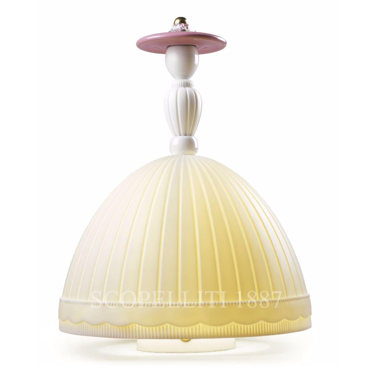 lladro mademoiselle elisabeth designer table lamp