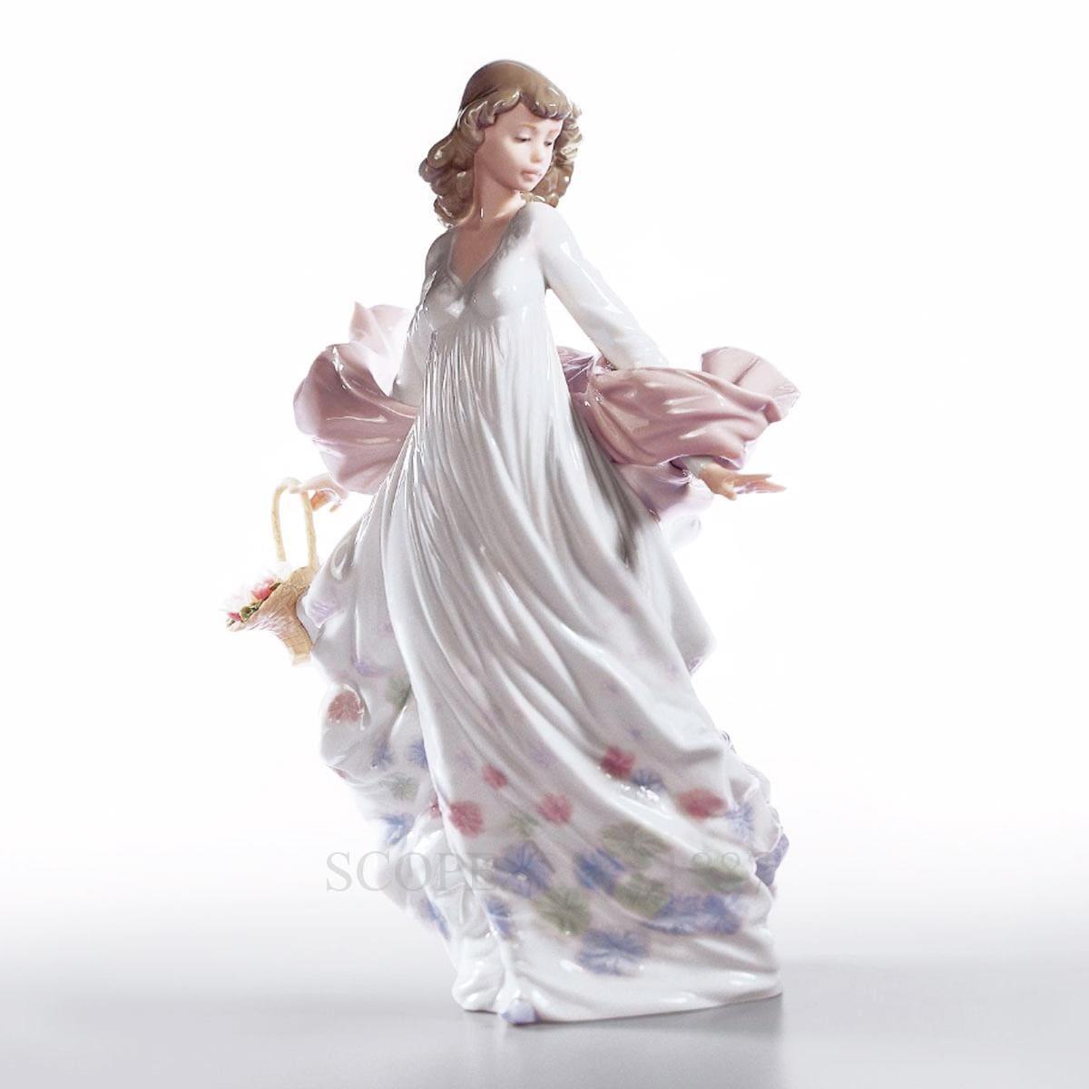 lladro spring splendor porcelain figurine