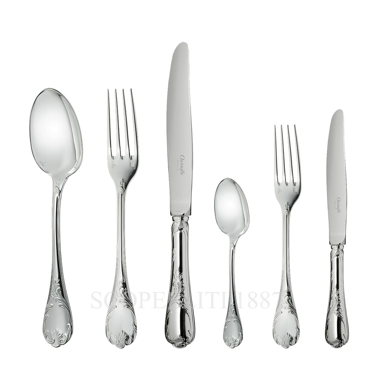 christofle flatware marly