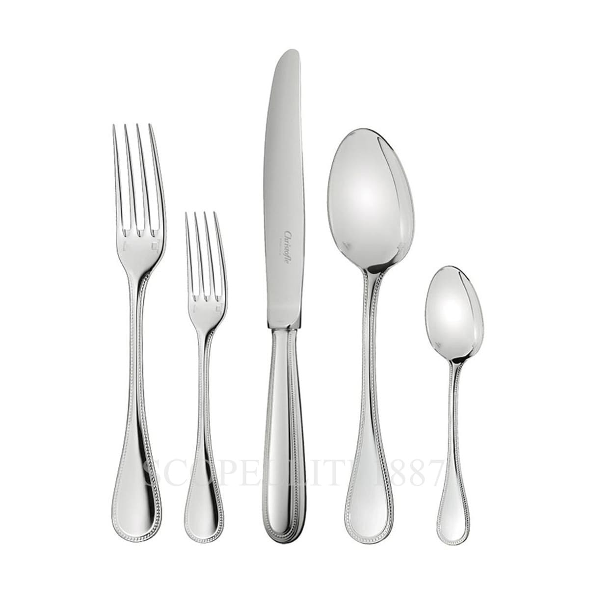 christofle flatware perles