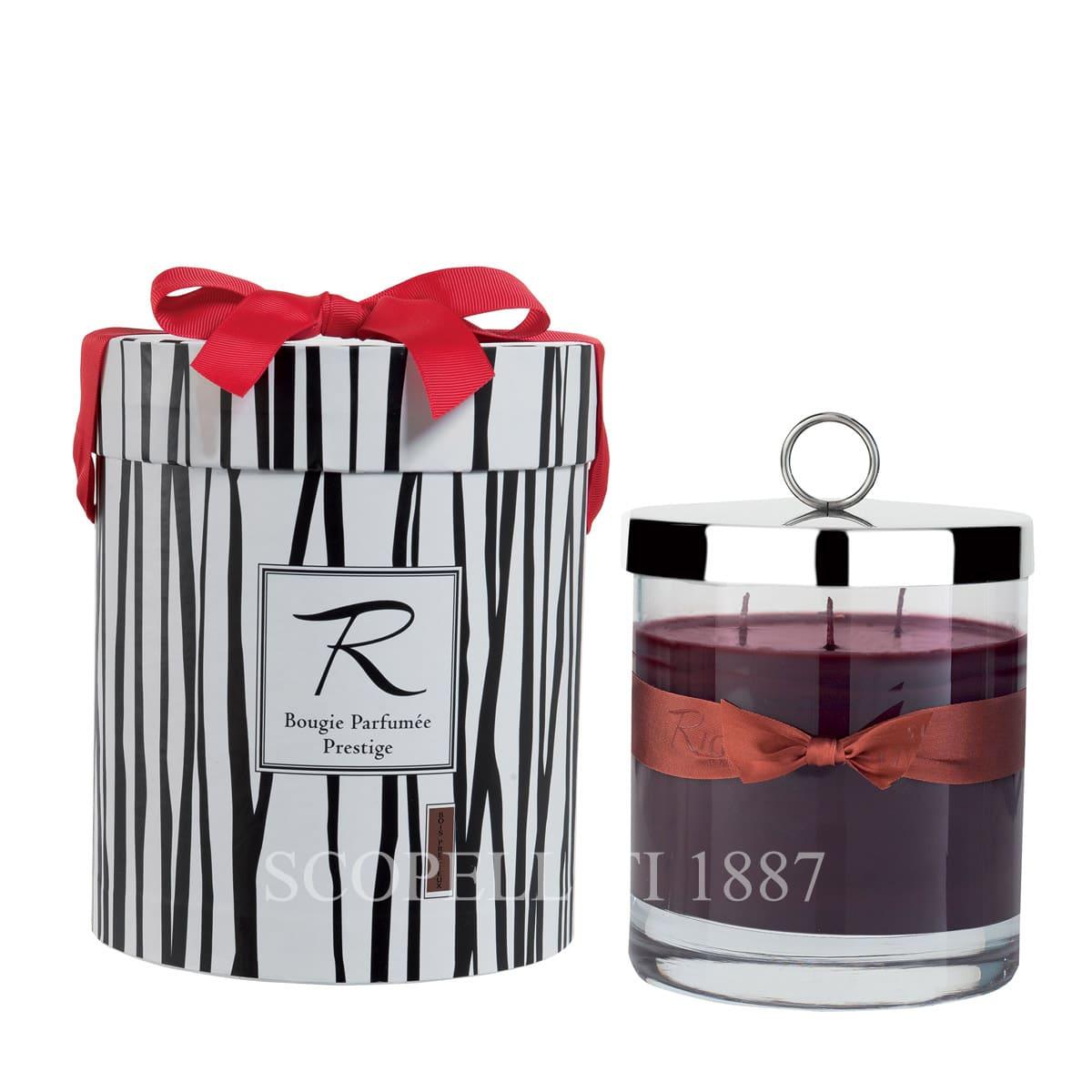 prestige candle boix precieux by rigaud