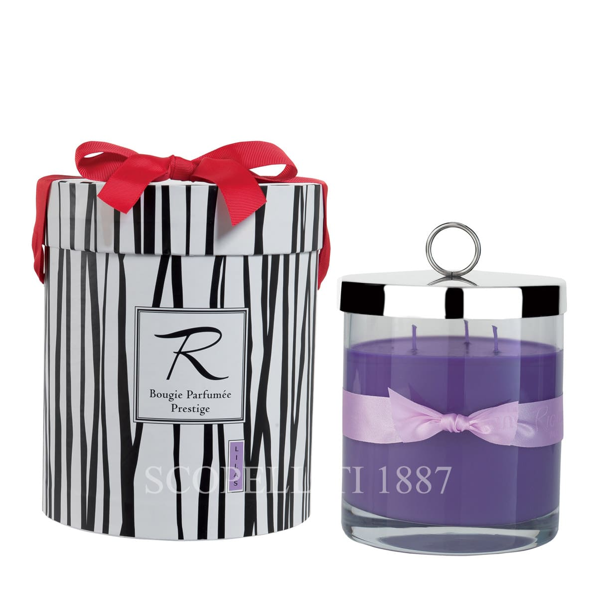 prestige candle lilas by rigaud