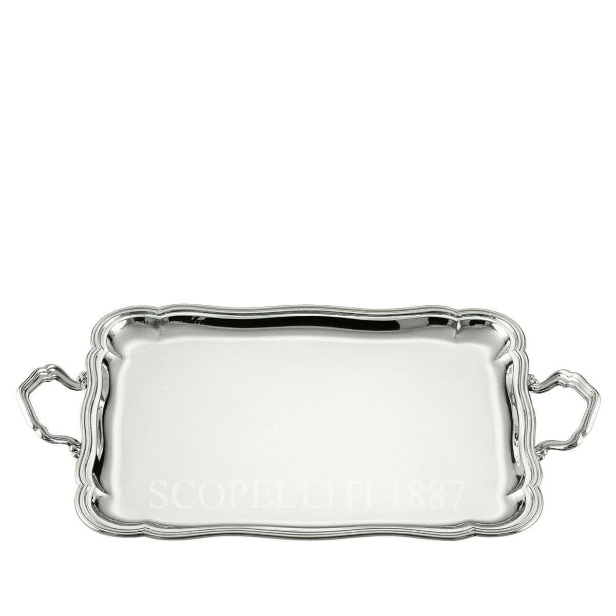 schiavon barocco real 925 sterling silver tray
