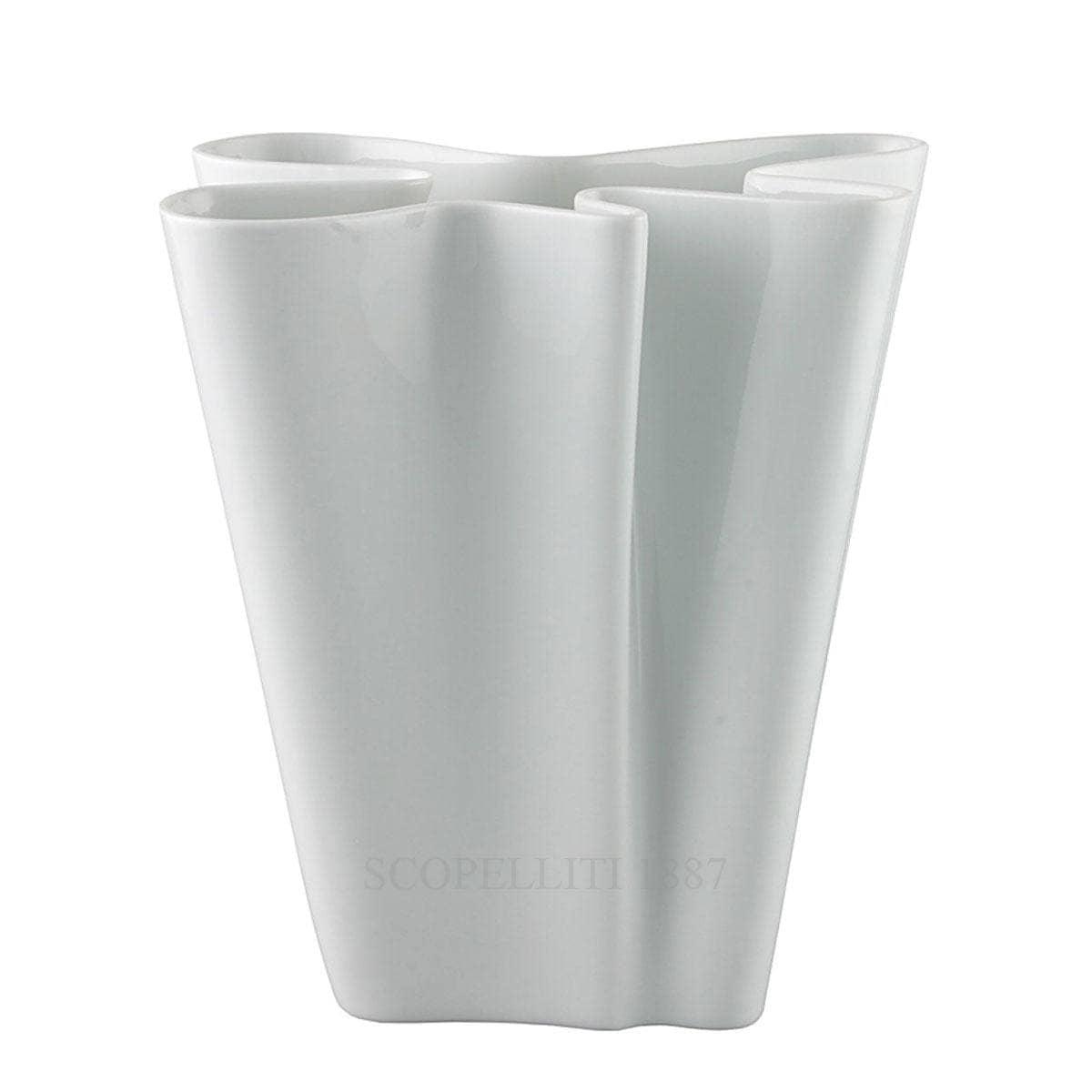 rosenthal studioline flux designer white vase