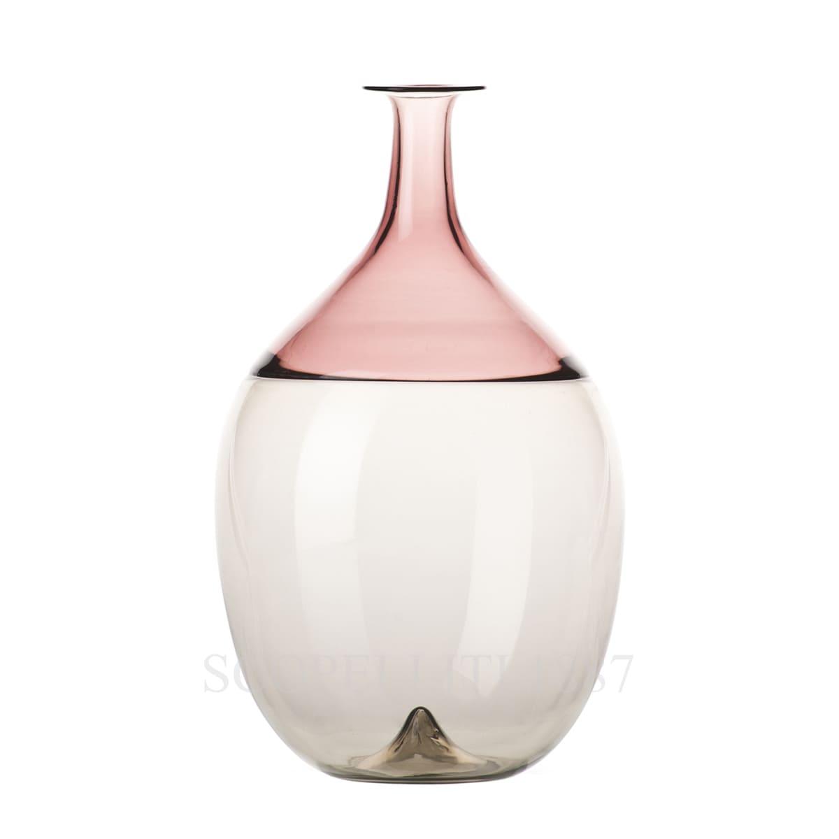 Venini Bolle grey/violet 502.02 Bottle