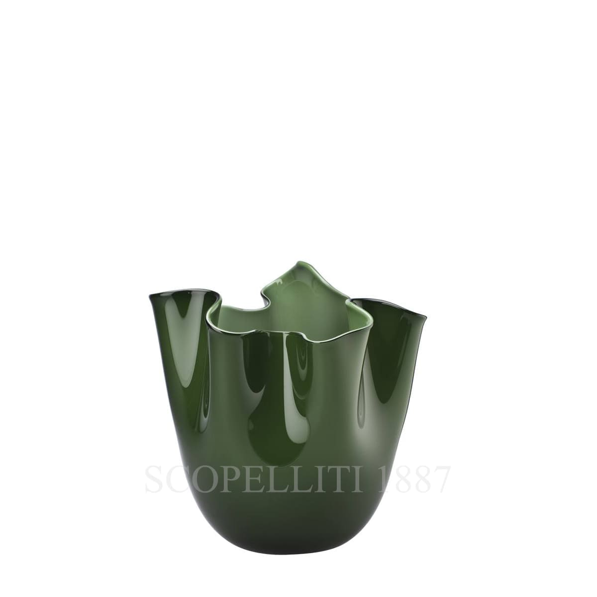 fazzoletto venini small vase green