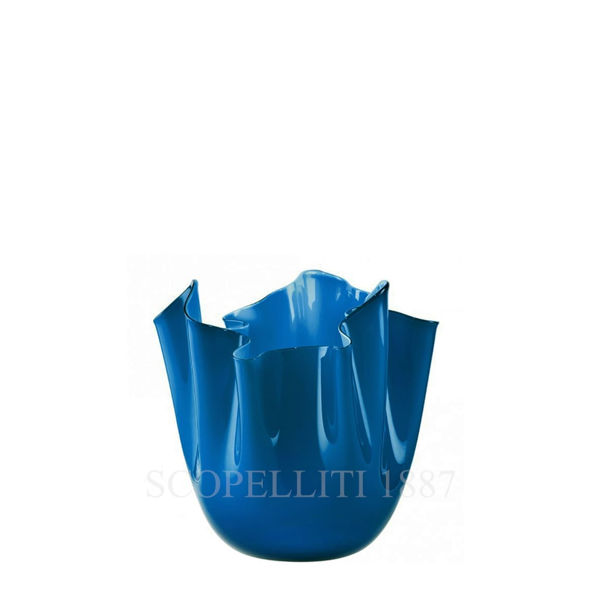 fazzoletto venini small vase blue