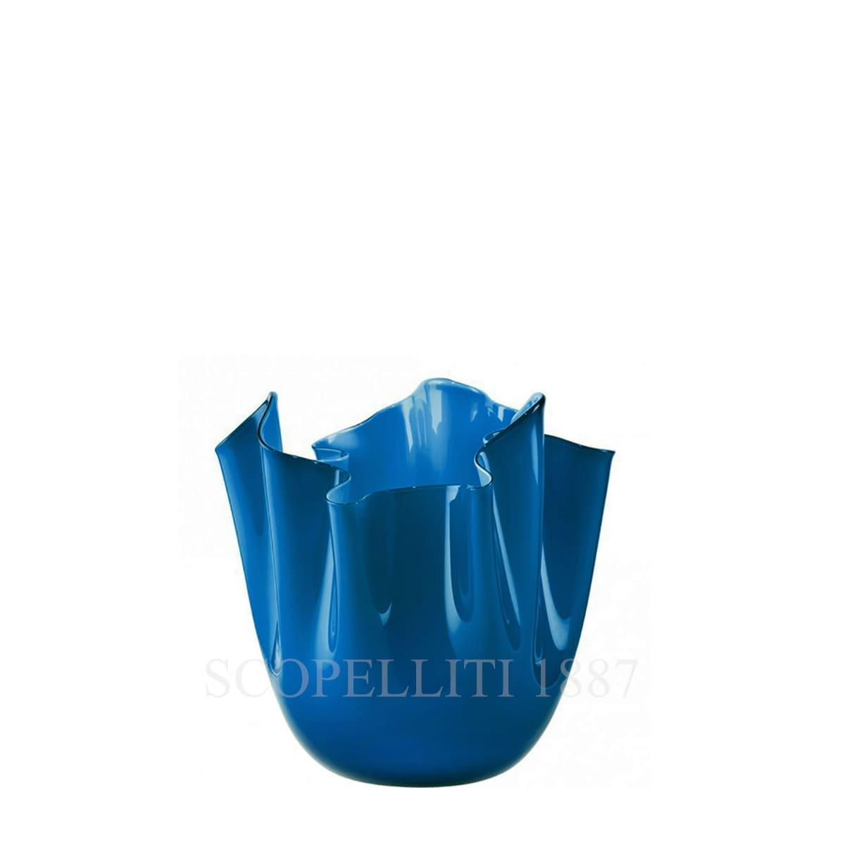 Venini Fazzoletto Vase small horizon 700.04