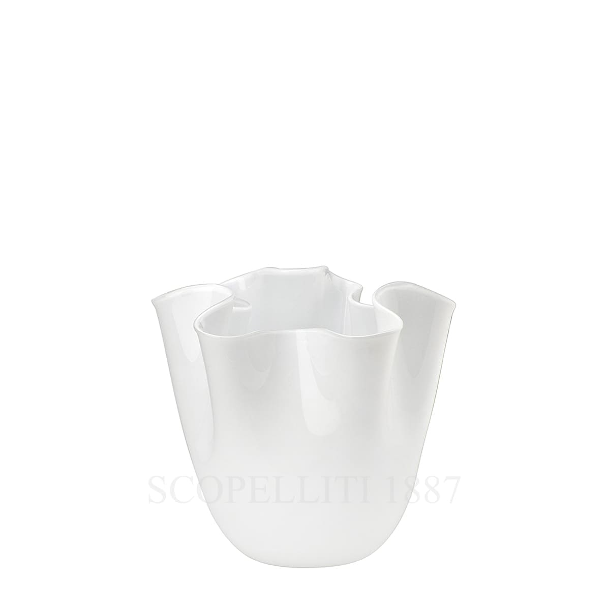 fazzoletto venini small vase white