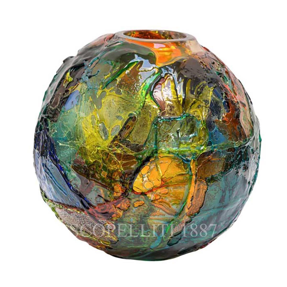 venini italian designer geacolor vase