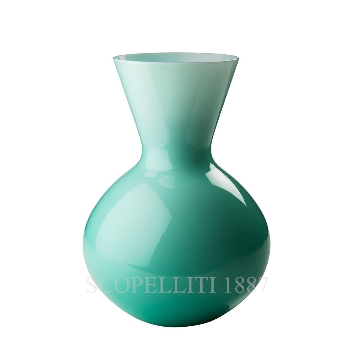 Venini Idria tall Vase mint green 706.42