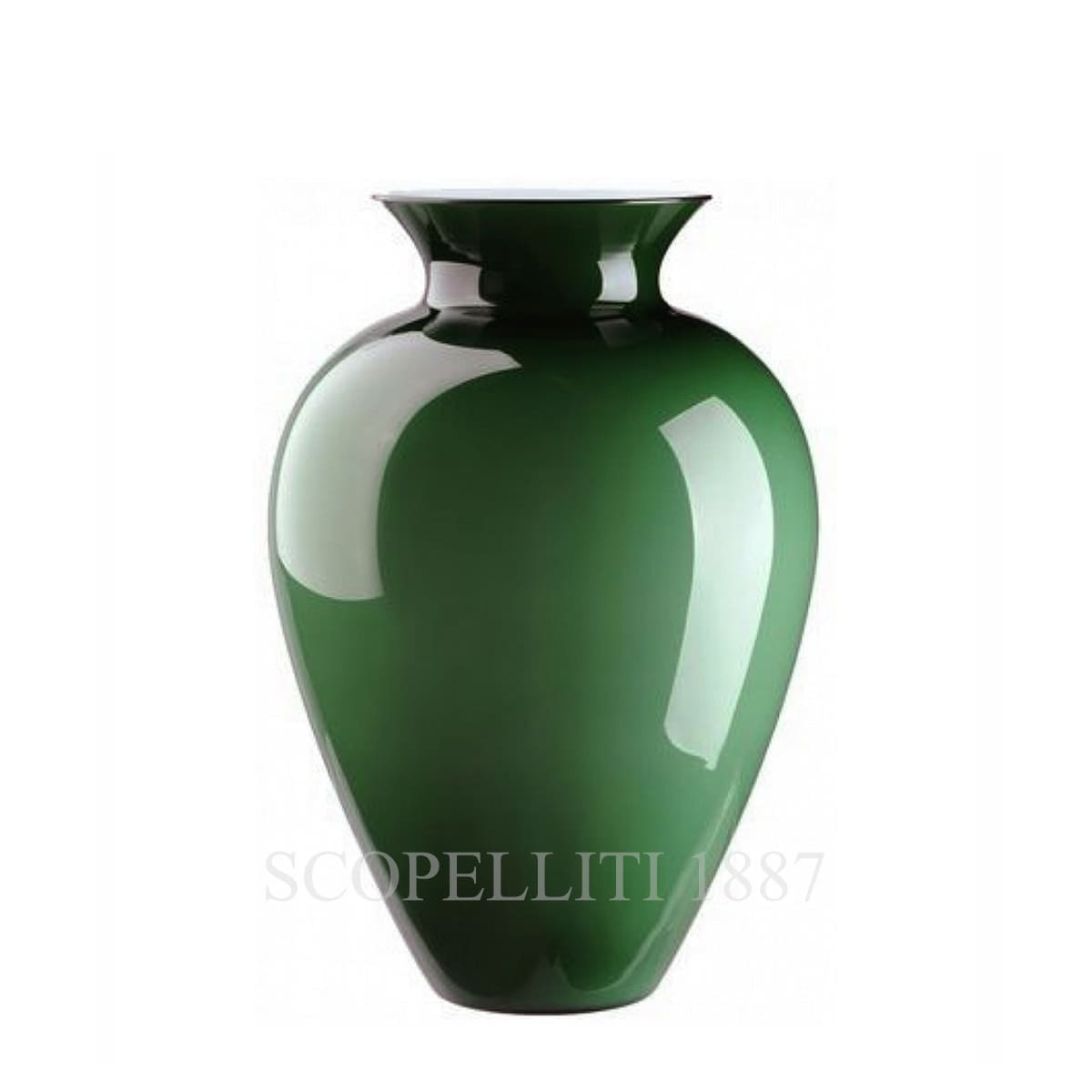 Venini Labuan Vase 706.62 apple green