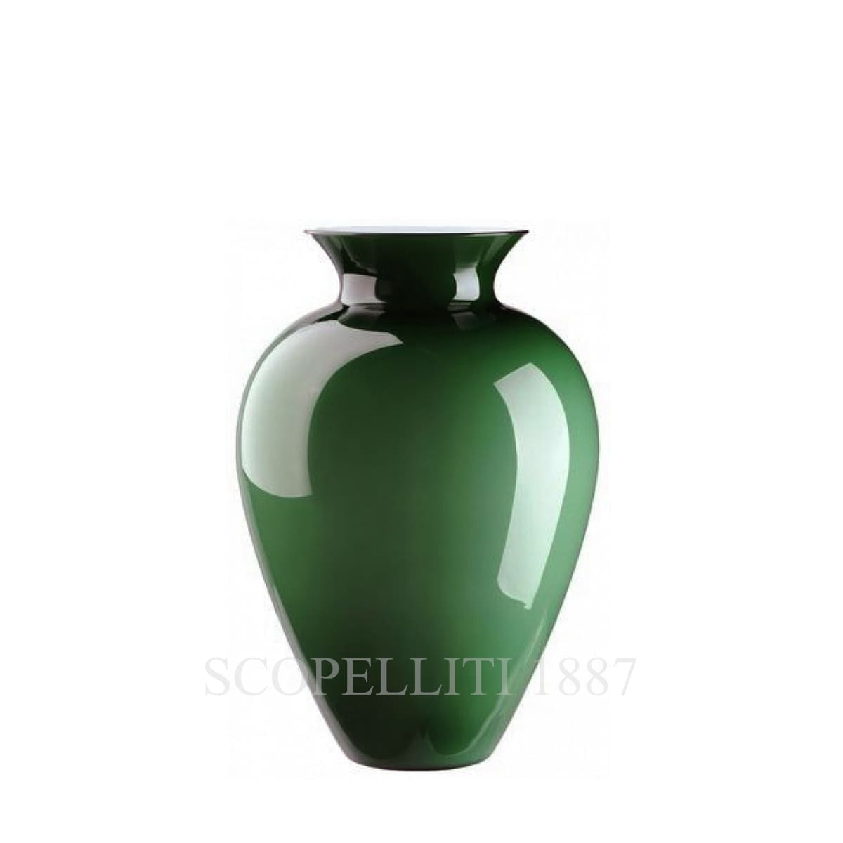 Venini Labuan Vase 706.63 apple green