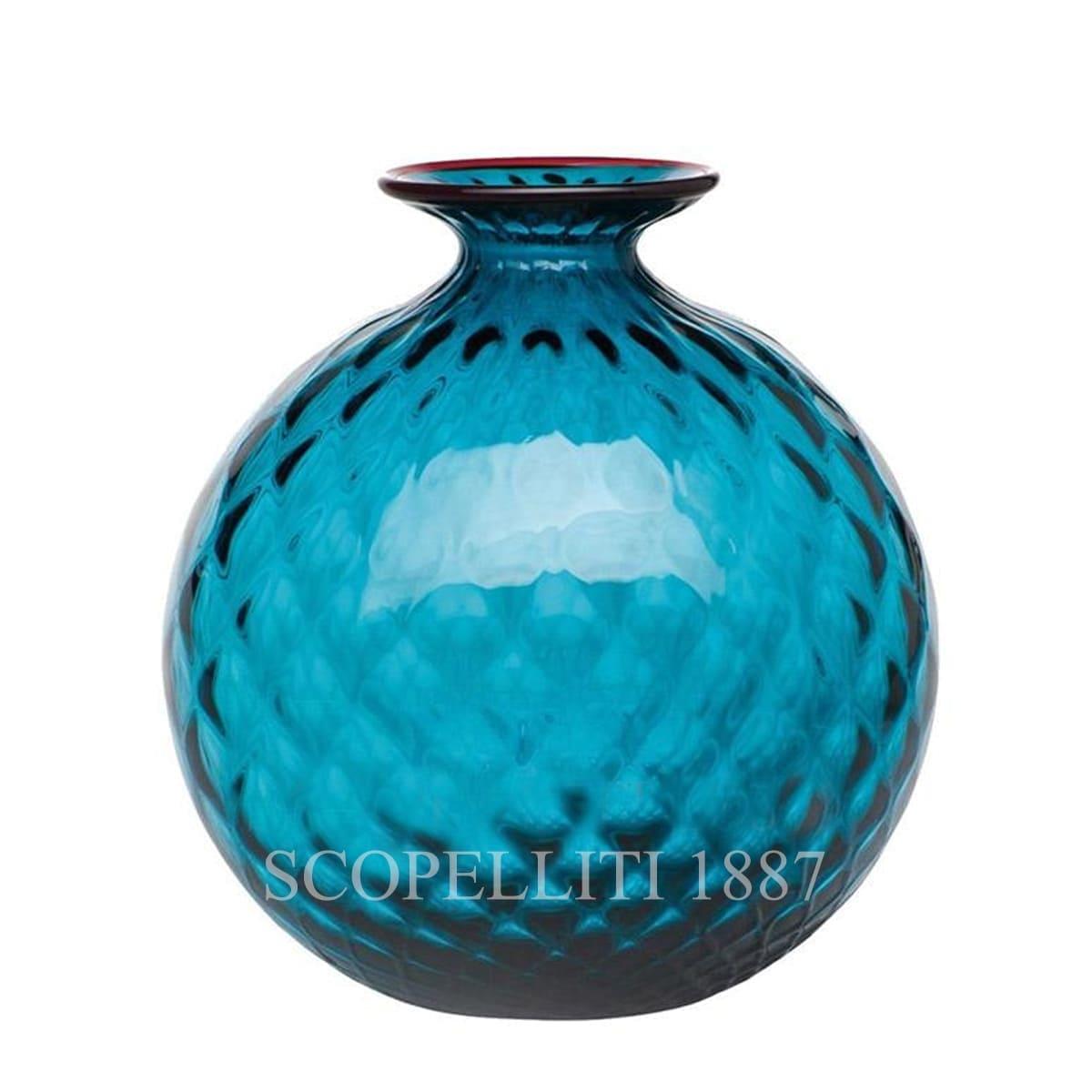 Venini Monofiore Balloton Vase large horizon