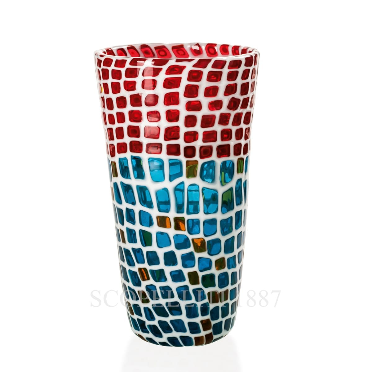 Venini Murrine Ravenna Vase limited edition