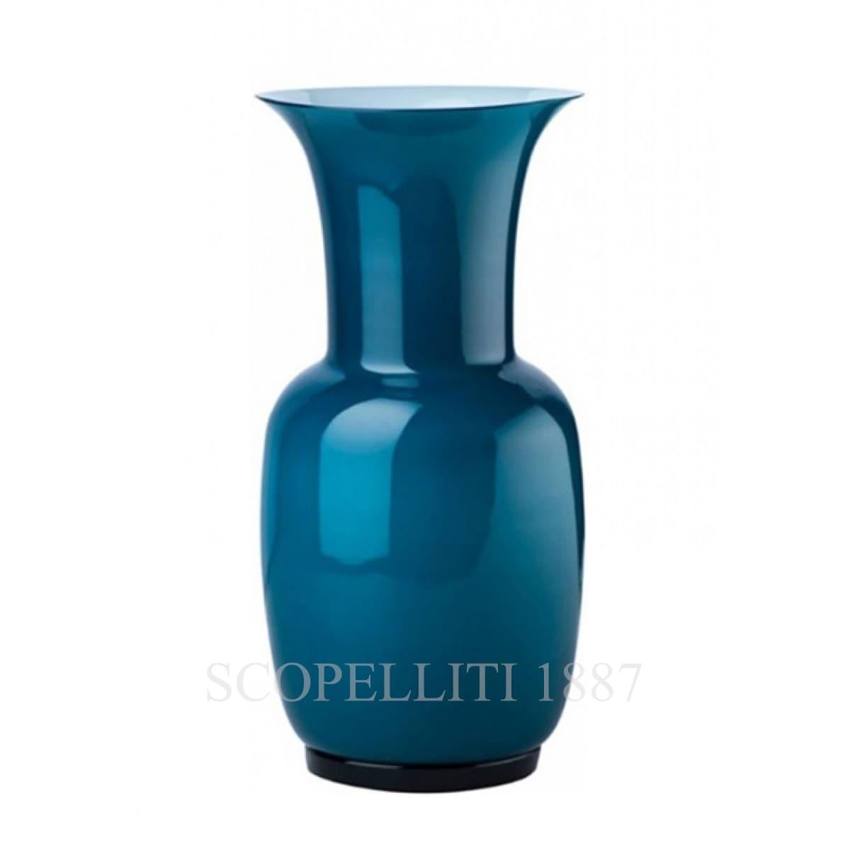 Venini Opalino Vase large horizon 706.24
