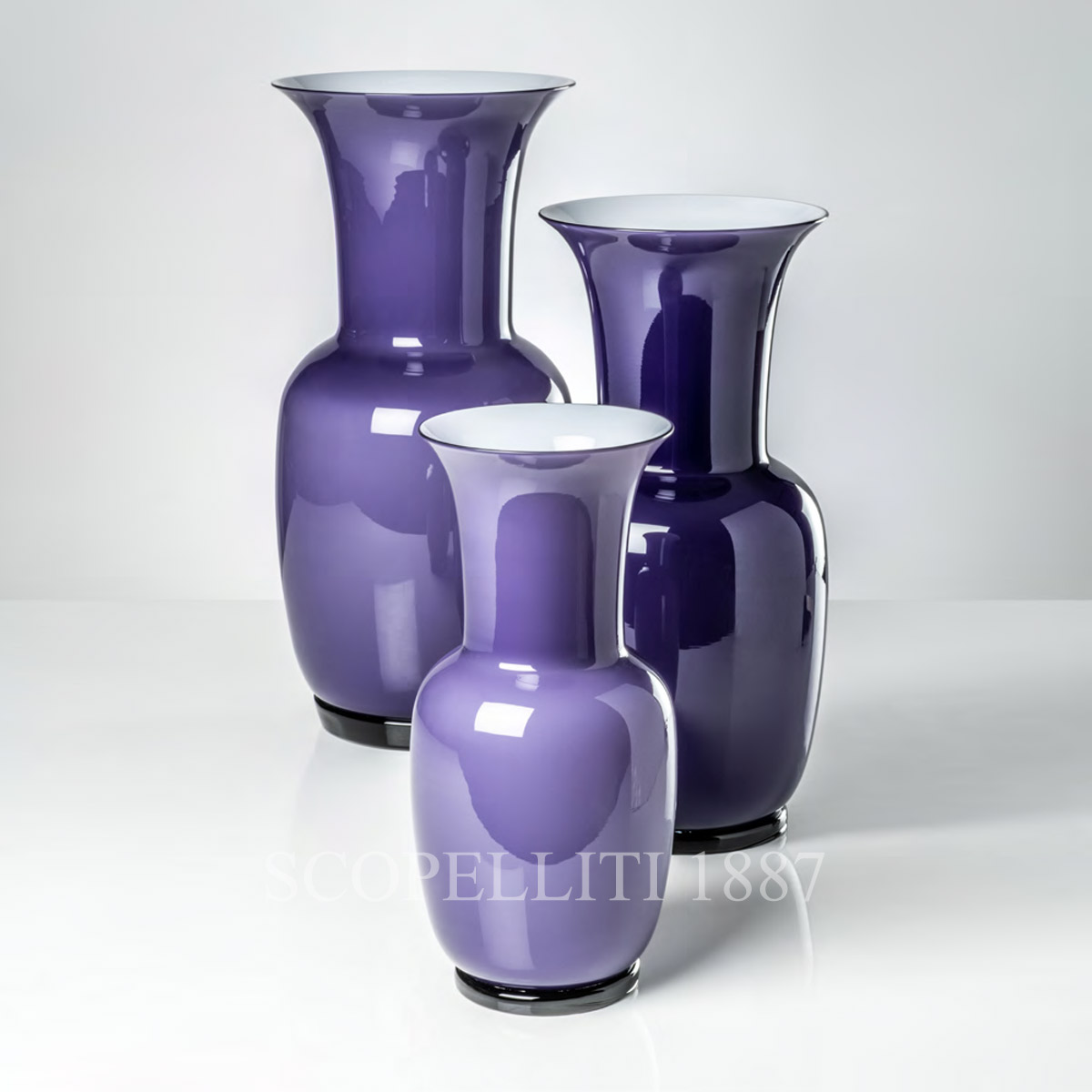 venini vase new color indigo