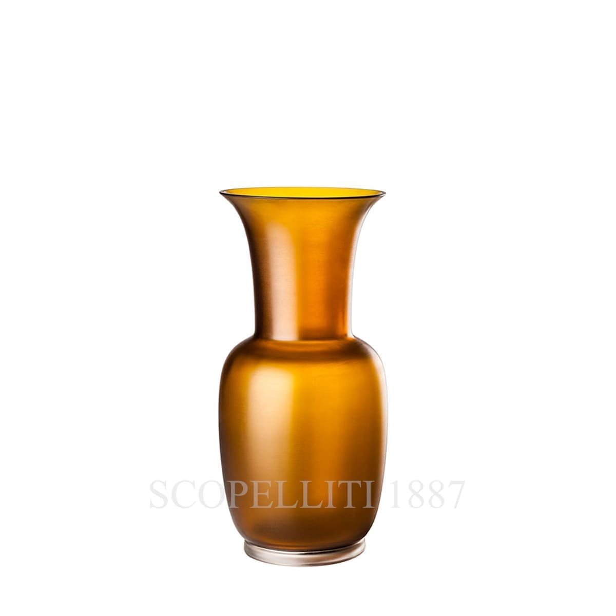 Venini Satin Opalino Vase, small, tea 706.38