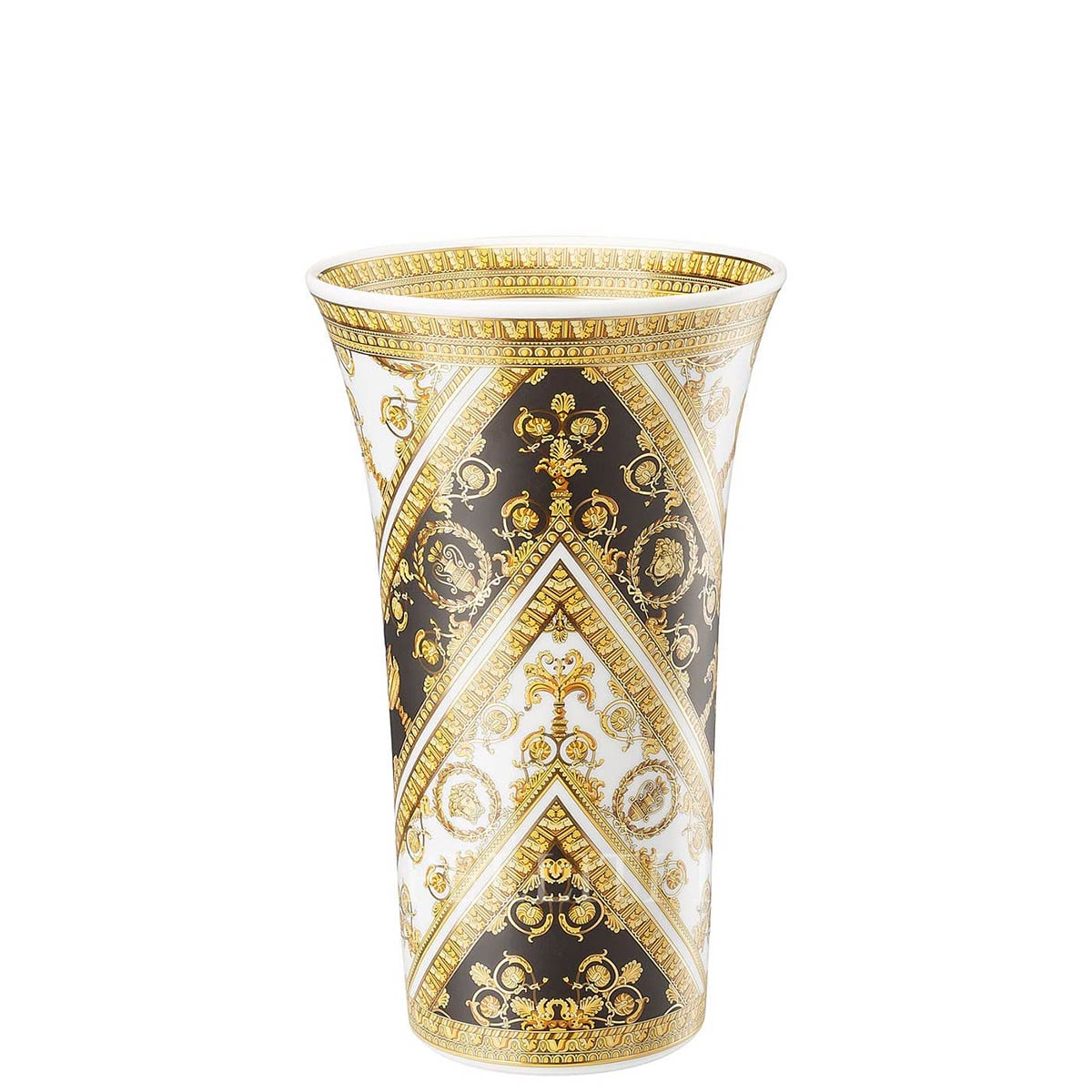 versace italian design i love baroque vase golden medium