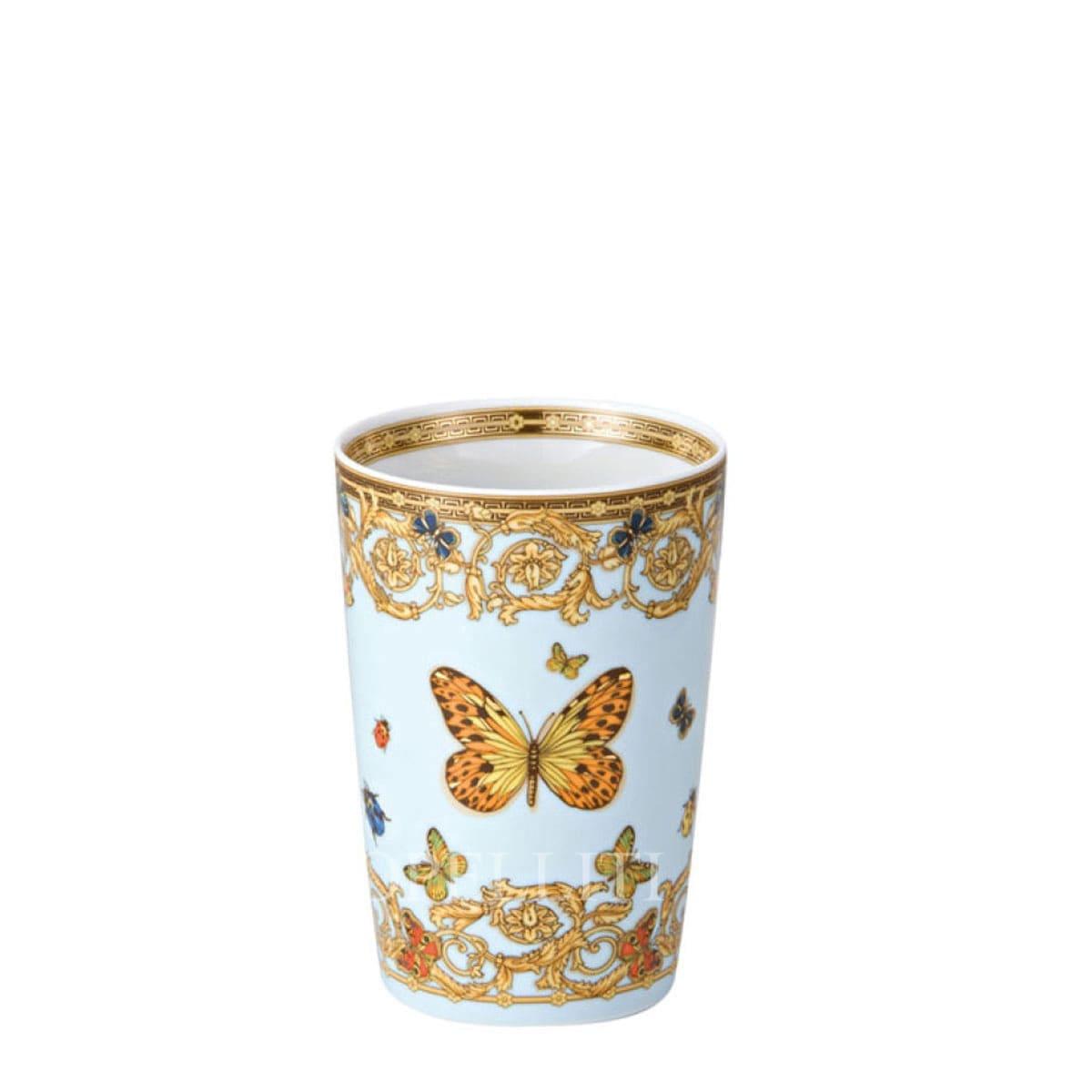 versace italian design mug without handles le jardin de versace