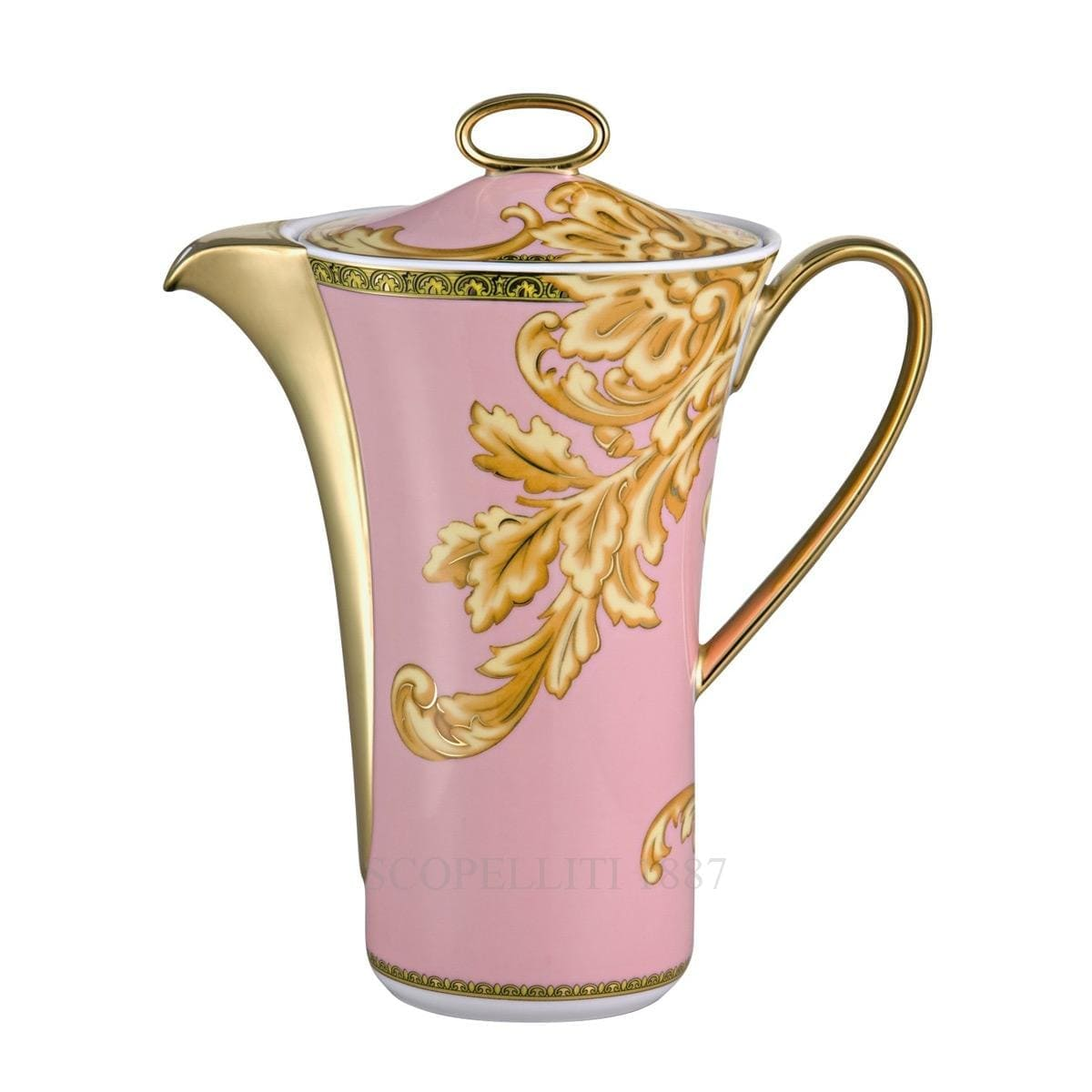 versace italian design les reves byzantins coffee pot