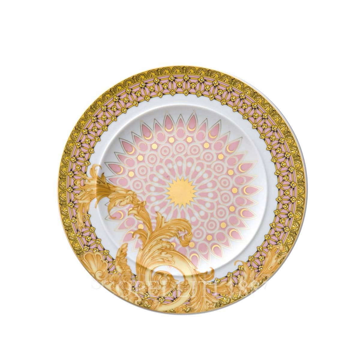 versace italian design les reves byzantins plate