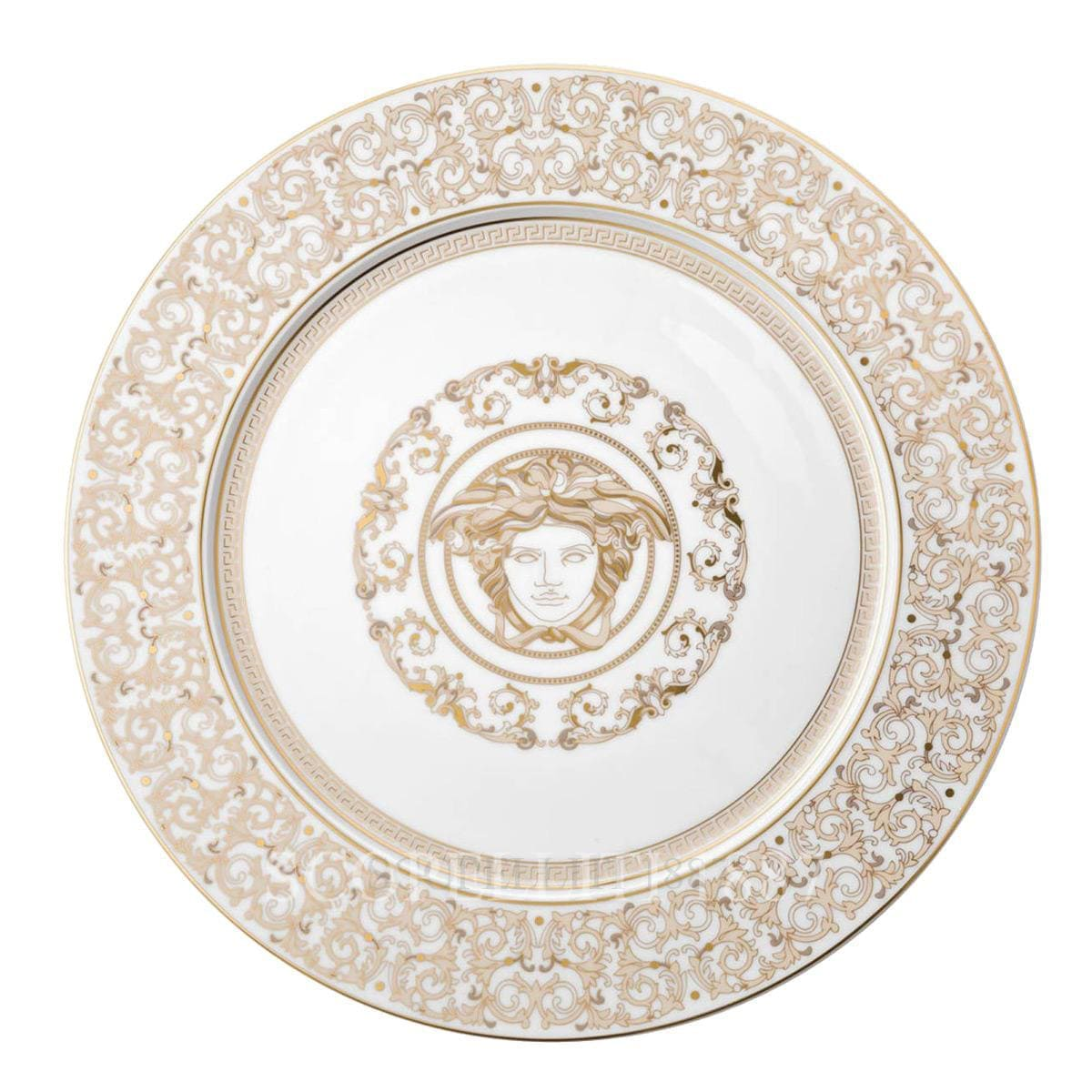 Versace Medusa Gala Service Plate 30 cm by Rosenthal