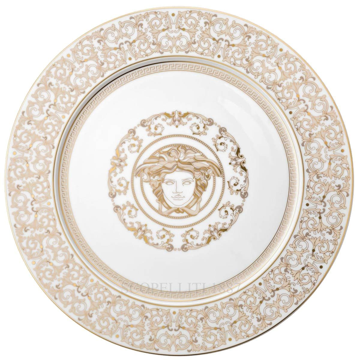 versace italian design medusa gala service plate large by rosenthal