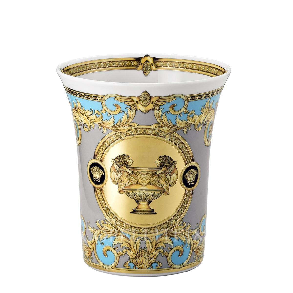 Versace Prestige Gala Le Bleu Vase 18 cm by Rosenthal