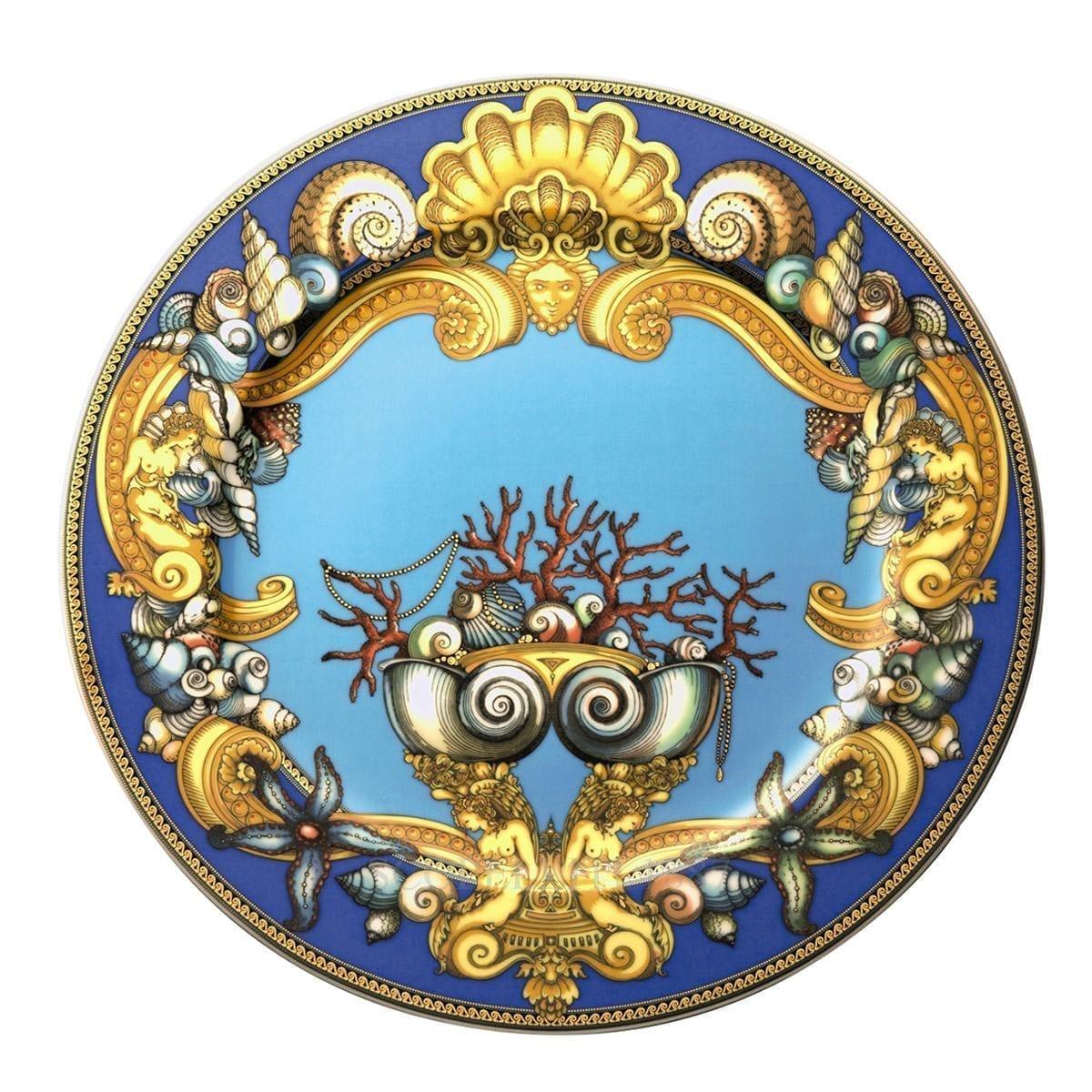 versace italian design tresors de la mer service plate