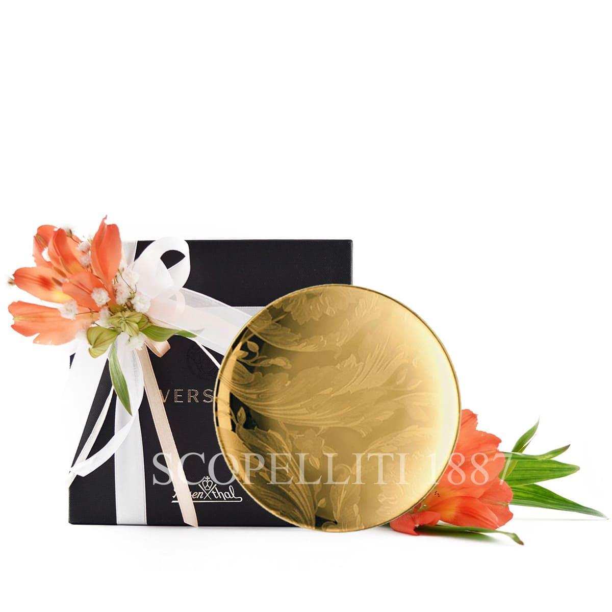 versace italian designer vanity la doree small plate