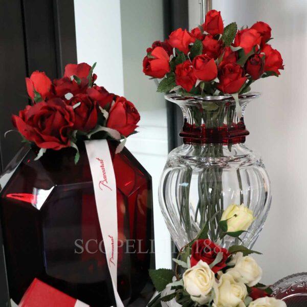 baccarat crystal vase baluster