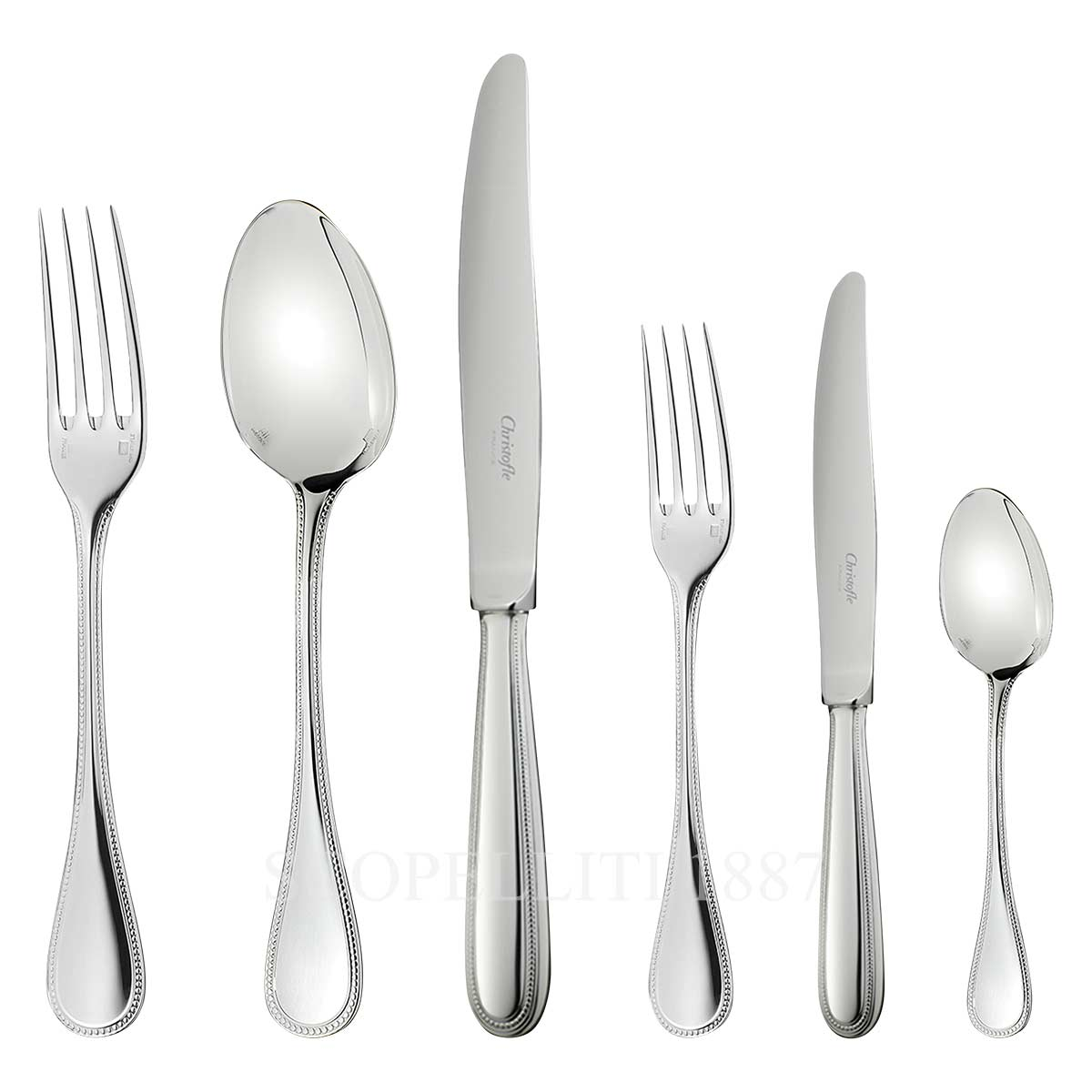 christofle cutlery perles 36 pieces