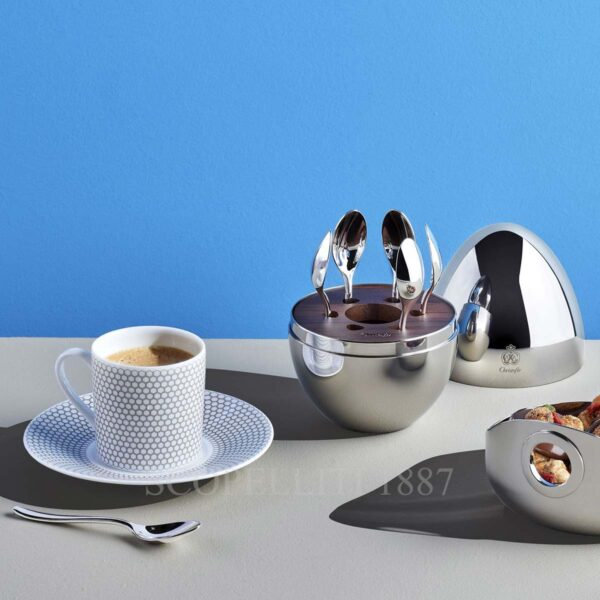 christofle mood coffee spoon set