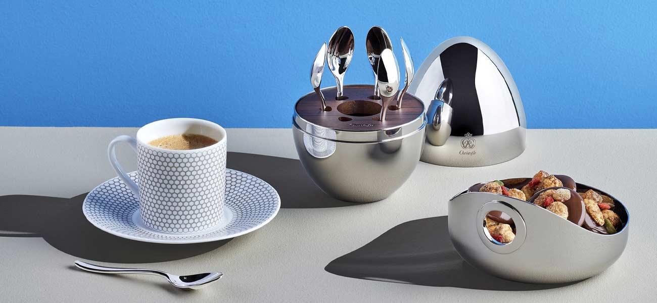 christofle mood coffee spoon set