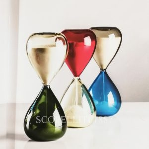 venini hourglass murano glass