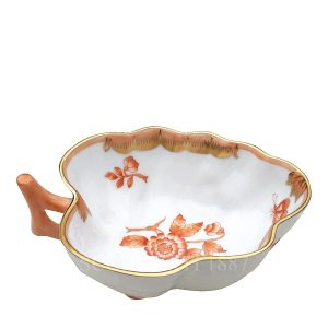 herend porcelain sugar fortuna rust