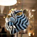 tiger mask lladro porcelain design decor